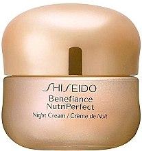 Düfte, Parfümerie und Kosmetik Intensiv regenerierende Nachtcreme für reife Haut - Shiseido Benefiance NutriPerfect Night Cream