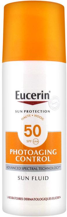 Anti-Aging Sonnenschutzfluid für das Gesicht SPF 50 - Eucerin Sun Protection Photoaging Control Sun Fluid SPF 50