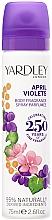 Düfte, Parfümerie und Kosmetik Yardley April Violets - Deospray