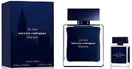Düfte, Parfümerie und Kosmetik Narciso Rodriguez For Him Bleu Noir - Duftset (Eau de Toilette/100ml + Eau de Toilette/10ml)