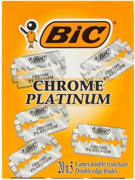 Rasierklingen Chrome Platinum 100 St. - Bic — Bild N1