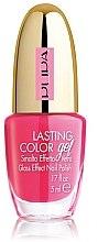 Düfte, Parfümerie und Kosmetik Gel Nagellack mit Glaseffekt - Pupa Lasting Color Gel Collection 2015