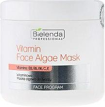 Düfte, Parfümerie und Kosmetik Alginat-Gesichtsmaske mit Vitaminen B3, B5, B6, C und E - Bielenda Professional Program Face Vitamin Face Algae Mask