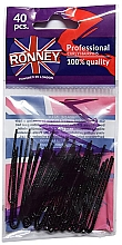 Düfte, Parfümerie und Kosmetik Haarnadeln schwarz 50 mm 40 St. - Ronney Professional Black Hair Pins
