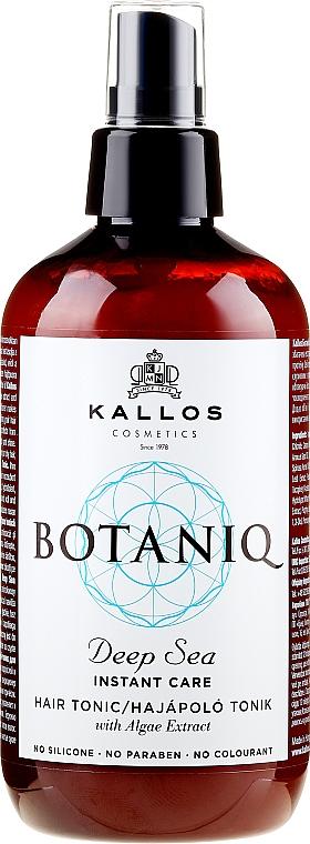 Belebendes Haartonikum mit Sofortwirkung - Kallos Cosmetics Botaniq Deep Sea Instant Care Hair Tonic