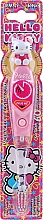 Düfte, Parfümerie und Kosmetik Kinderzahnbürste mit Timer weich Hello Kitty pink - VitalCare Hello Kitty
