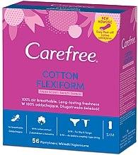 Düfte, Parfümerie und Kosmetik Slipeinlagen 56 St. - Carefree Cotton FlexiForm