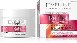 Düfte, Parfümerie und Kosmetik Gesichtscreme mit Retinol und Sauerstoff mit Lifting-Effekt - Eveline Cosmetics Skin Care Expert Retinol Lifting Cream