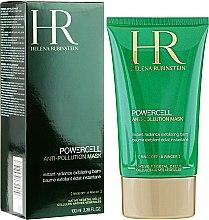Düfte, Parfümerie und Kosmetik Reinigende Gesichtsmaske gegen Hautunreinheiten mit Moringa und Sheabutter - Helena Rubinstein Powercell Anti-Pollution Mask