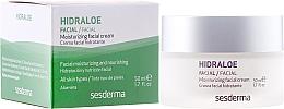 Feuchtigkeitsspendende Gesichtscreme - SesDerma Laboratories Hidraloe Moisturizing Face Cream — Bild N1