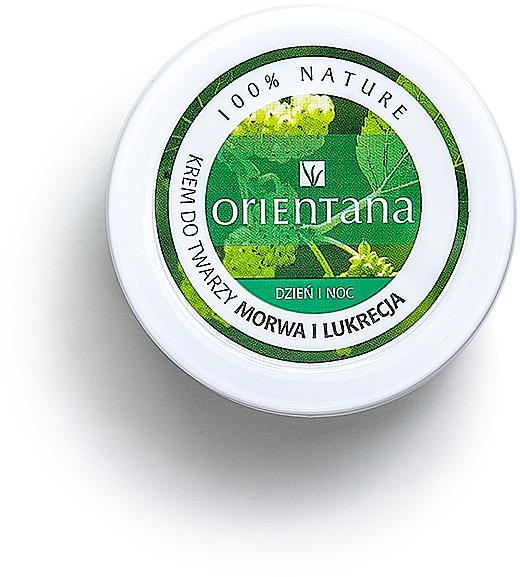 Gesichtscreme für Tag und Nacht mit Maulbeere und Süßholz - Orientana Face Cream Mulberry & Licorice