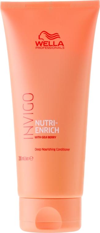 Nährende Haarspülung für trockenes und strapaziertes Haar - Wella Invigo Nutri-Enrich Deep Nourishing Conditioner