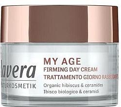 Düfte, Parfümerie und Kosmetik Festigende Tagescreme für reife Haut mit Ceramiden und Bio-Hibiskus - Lavera My Age