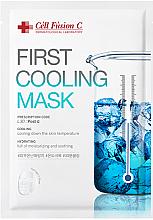 Düfte, Parfümerie und Kosmetik Kühlende Hydrogel-Maske für gereizte Haut - Cell Fusion C First Cooling Mask