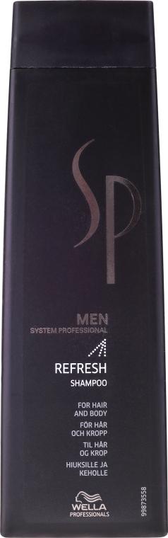 Erfrischendes Männershampoo - Wella Wella SP Men Refresh Shampoo — Bild N1
