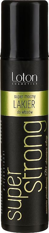 Haarlack Extra starker Halt - Loton Hair-Spray Super Strong
