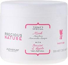 Düfte, Parfümerie und Kosmetik Haarmaske mit Waldbeeren und Apfel - Alfaparf Precious Nature Mask for Thirsty Hair