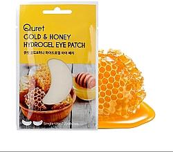 Düfte, Parfümerie und Kosmetik Hydrogel-Augenpatches mit Gold und Honig - Quret Gold&Honey Hydrogel Eye Patch