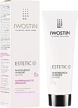 Düfte, Parfümerie und Kosmetik Revitalisierende Nachtcreme für das Gesicht - Iwostin Estetic 2 Revitalization Night Cream