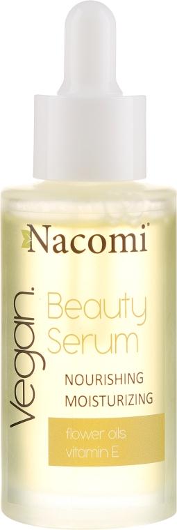 Nährendes und feuchtigkeitsspendendes Gesichtsserum mit Vitamin E - Nacomi Beauty Serum Nourishing & Moisturizing Serum