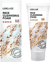 Düfte, Parfümerie und Kosmetik Gesichtsreinigungsschaum mit Reisextrakt - Lebelage Rice Cleansing Foam