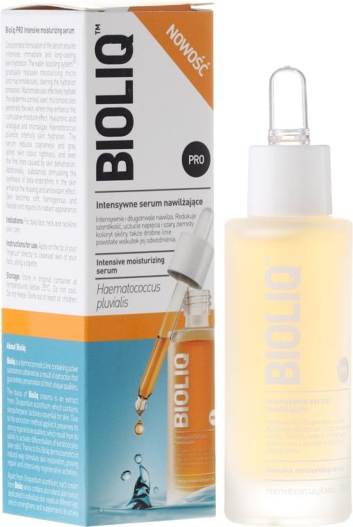 Intensiv feuchtigkeitsspendendes Gesichtsserum - Bioliq Pro Intensive Moisturizing Serum