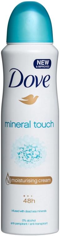 Deospray Antitranspirant - Dove Mineral Touch Deo Spray  — Bild N1