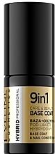 Düfte, Parfümerie und Kosmetik 9in1 Hybrid-Nagelunterlack und Conditioner - Eveline Cosmetics Hybrid Professional Care & Beauty Base Coat 9in1