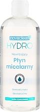 Düfte, Parfümerie und Kosmetik Feuchtigkeitsspendendes Mizellen-Reinigungswasser mit Reis- und Flachs-Extrakt - Novaclear Hydro Micellar Water