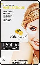Düfte, Parfümerie und Kosmetik Gelpatches gegen müde Augen mit Vitamin C - Iroha Nature Anti-Fatigue Hydrogel Patches Vitamin C