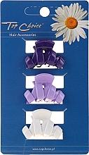 Düfte, Parfümerie und Kosmetik Haarkrebse 24122 weiß, violett, blau 3 St. - Top Choice