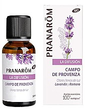 Düfte, Parfümerie und Kosmetik Natürliches ätherisches Öl Lavendel und Rosmarin - Pranarom The Diffusion Field Of Provence Bio