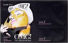Düfte, Parfümerie und Kosmetik 3-Schritt Peel-Off Gesichtsmaske - Double Dare OMG! 3in1 Kit Peel Off Mask