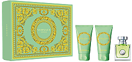 Düfte, Parfümerie und Kosmetik Versace Versense - Duftset (Eau de Toilette 50ml + Körperlotion 50ml + Bade- und Duschgel 50ml)