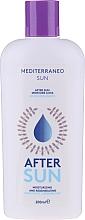 Düfte, Parfümerie und Kosmetik Feuchtigkeitsspendende, beruhigende und regenerierende After Sun Körperlotion - Mediterraneo Sun Moisturising Aftersun
