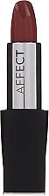 Düfte, Parfümerie und Kosmetik Satynowa szminka do ust - Affect Cosmetics Macadamia Oil Satin Lipstick