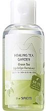 Düfte, Parfümerie und Kosmetik Lippen- und Augen-Make-up Entferner mit Grüntee-Extrakt - The Saem Healing Tea Garden Green Tea Lip & Eye Remover