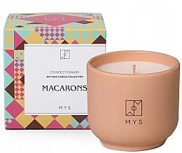 Düfte, Parfümerie und Kosmetik Soja-Duftkerze Makronen - Mys Macarons Candle