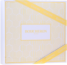 Düfte, Parfümerie und Kosmetik Boucheron Quatre Boucheron Pour Femme - Duftset (Eau de Parfum 50ml + Körperlotion 50ml + Duschgel 50ml)