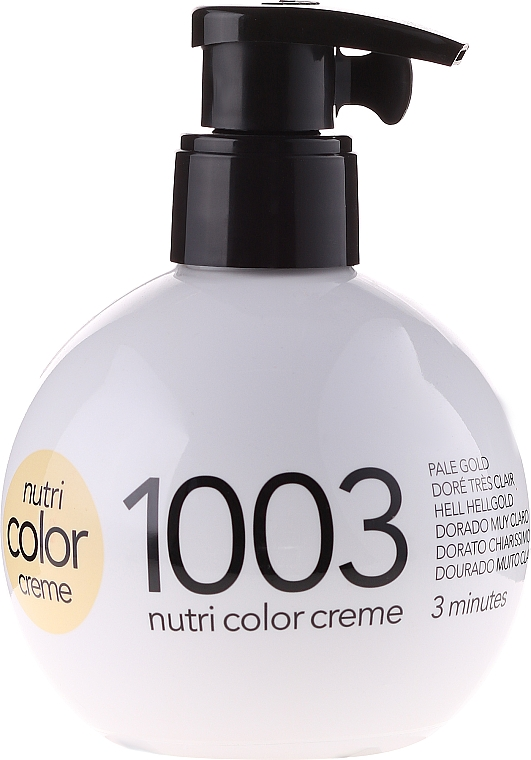 Revlon Professional Color Creme Nr.1003 hellgold - Revlon Professional Nutri Color Creme — Bild N2