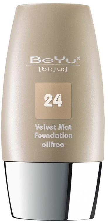 Mattierende Foundation - BeYu Velvet Mat Foundation — Bild N1