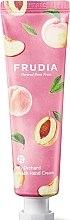 Düfte, Parfümerie und Kosmetik Feuchtigkeitsspendende Handcreme mit Pfirsich-Extrakt - Frudia My Orchard Peach Hand Cream