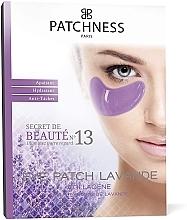 Düfte, Parfümerie und Kosmetik Kollagen-Augenpatches gegen dunkle Flecken mit Lavendelextrakt - Patchness Eye Patch Lavender