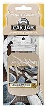 Düfte, Parfümerie und Kosmetik Papier-Lufterfrischer Seaside Woods - Yankee Candle Car Jar Seaside Woods