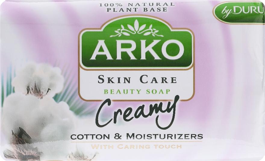 Parfümierte Körperseife - Arko Beauty Soap Creamy Cotton & Cream