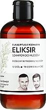 Düfte, Parfümerie und Kosmetik Shampoo-Elixier gegen Haarausfall mit Eukalyptus und Rosmarin - WS Academy Eukaliptus & Rozmaryn Elixir Wash