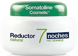 Düfte, Parfümerie und Kosmetik Intensiv modellierende Nachtcreme für empfindliche Körperhaut - Somatoline Cosmetic Reducer 7 Nights Natural