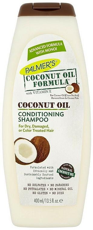 2in1 Shampoo und Haarspülung mit Kokosnussöl für trockenes, strapaziertes und gefärbtes Haar - Palmer's Coconut Oil Formula Conditioning Shampoo
