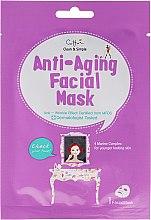 Düfte, Parfümerie und Kosmetik Anti-Falten Tuchmaske für das Gesicht - Cettua Anti-Aging Facial Mask