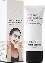 Düfte, Parfümerie und Kosmetik Gesichtsmaske gegen Akne und Mitesser mit weißem Ton - Pil'Aten White Clay Mask Blackhead Extraction Acne Removal